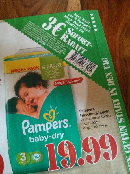 [offline] Pampers baby dry Megapack