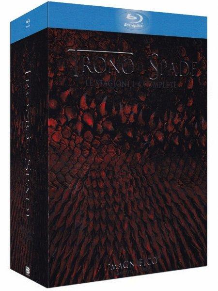 Game of Thrones 1-4 Blu-ray für 49,90 @Amazon Prime Day Italien