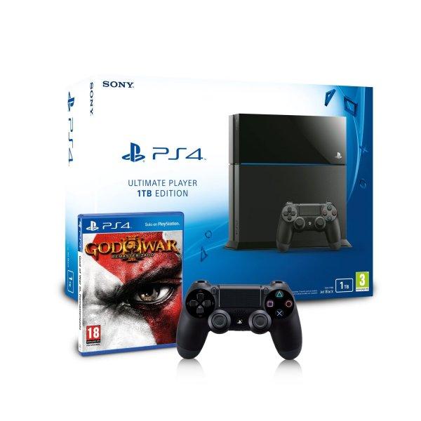 [Amazon.es] Amazon Prime Day: Playstation 4 1TB & zusätzl. DualShock 4 Controller & God of War 3 Remastered für 399,99€ inkl Versand