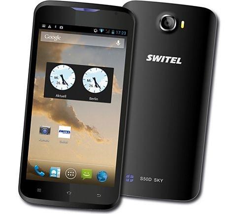 [Plus.de] Switel S50D Sky   Android-Smartphone Dual-Sim für 64,95€