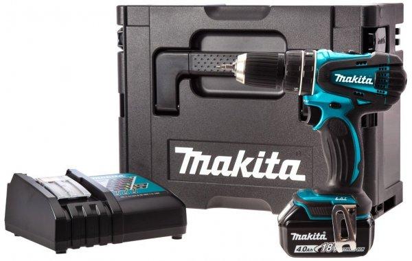 [Amazon Prime Day UK] Makita DHP456SP1R Akku-Schlagbohrschrauber-Set im MAKPAC 100-Jahre-Edition für ~ 150 €