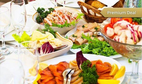 Brunch-Buffet All-you-can-eat am Samstag oder Sonntag für Zwei im Asin am Kollwitzplatz ab 14,90€ @Groupon