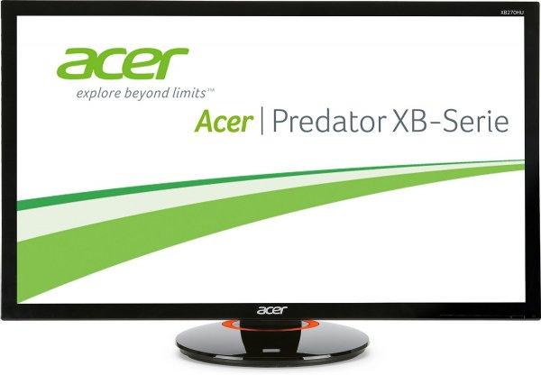 """Acer XB270HU G-Sync Monitor mit IPS Panel und 144Hz, 27"""" und 1440p [amazon.it]"""