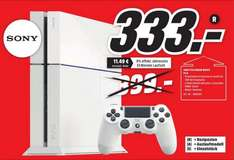 [Media Markt Dietzenbach] Playstation 4 White mit 2 Controllern