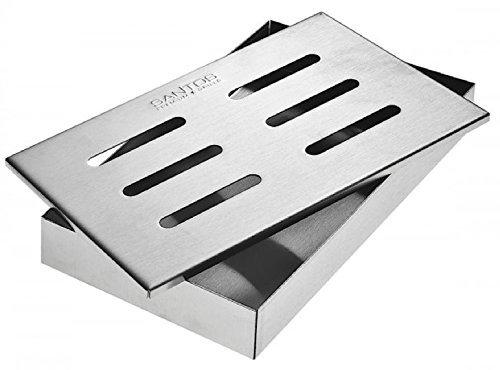 [Amazon Blitzangebot] Santosgrills Smoker Räucherbox für Gas- und Holzkohlegrills 28% günstiger
