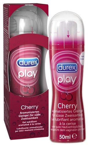 [ZIMMERMANN] KW30 Durex Play Gleitgel Cherry (50 ml) für 2,99 € (Angebot) [20.07.2015 - 25.07.2015]
