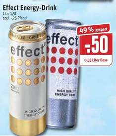 [REWE Ruhrgebiet?] Effect Energy 0,33l Dose - 0,50 Euro statt 0,99 Euro - ab 16.07.
