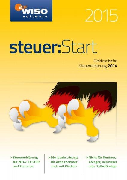 WISO Steuer: Start 2015 oder tax 2015 (Download) für 6,95€ @Amazon Prime Day