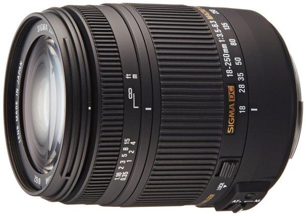 [Amazon Prime Day] Sigma 18-250 mm F3,5-6,3 DC Macro OS HSM Objektiv Canon/Nikon