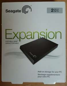 "[Lokal Saturn Oldenburg] Festplatte Seagate Expansion Portable 2,5"" mit 2 TB"