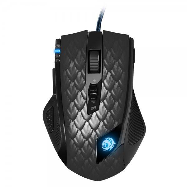 [Amazon Prime Day] Sharkoon Drakonia Black Gaming Laser Maus 8200 dpi (11 Tasten) schwarz