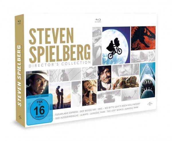 Steven Spielberg Director's Collection [Blu-ray] für 29,97€ @Amazon Prime Day