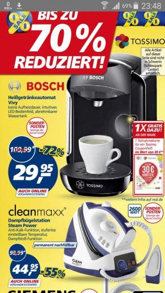 [real online] Bosch, Tassimo Vivy TAS1252 nur 29,95€