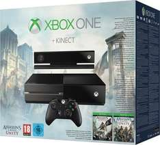 [Lokal Mediamarkt Krefeld] Microsoft Xbox One 500GB + Kinect + Assassin's Creed: Unity + Assassin's Creed: Black Flag für 349,-€