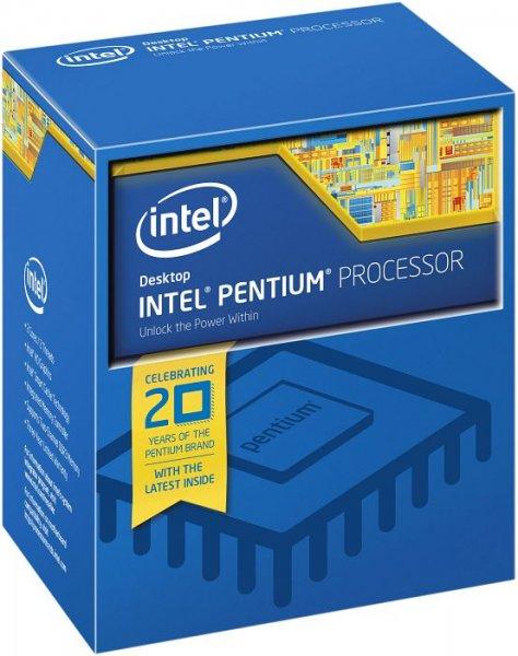 Intel Pentium G3258 Anniversary Edition, 2x 3.20GHz, freier Multiplikator, boxed - 59,88€ @ Amazon.co.uk