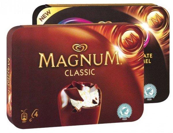 [KAUFLAND bundesweit] KW30 Super Weekend: Langnese Magnum Premium Eis (4 - 6 Stück, versch. Sorten) für 1,77 € (Angebot) [23.07.2015 - 25.07.2015]