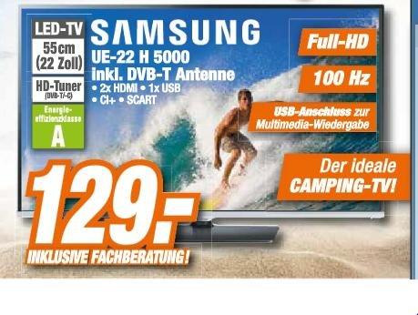 Samsung UE-22 H 5000 LED-TV [Expert - Octomedia]