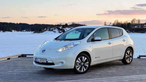 Elektroauto Nissan Leaf 5200€ günstiger