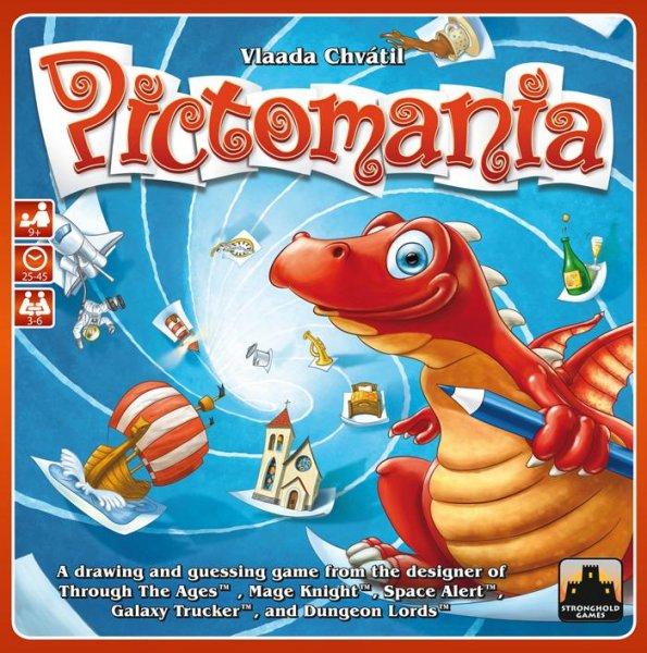 "[Spiele-Offensive.de] Party-Brettspiel ""Pictomania Revised Edition"" von Vlaada Chvatil"