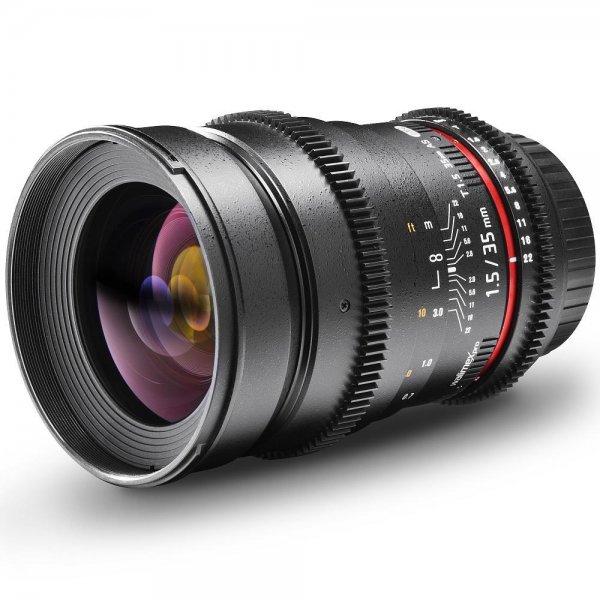 Walimex pro 35mm f1.5 VDSLR Objektiv für Sony NEX E-Mount