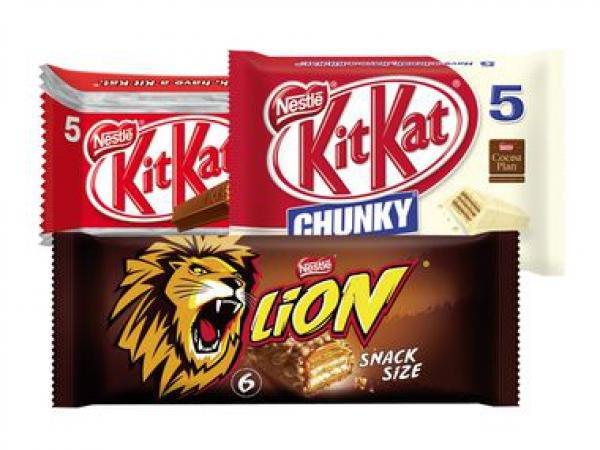 6er Pack Lion, 5er Pack Kitkat Chunky, 6er Pack Nuts für 1,19 € am 25.7.2015 bei Lidl