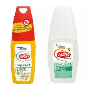 "[PICKS RAUS] Autan ""Tropical Dry Spray"" 100ml für 2,49€ (Idealo:7,15€)  // Autan ""Protect"" Pumpspray 100ml für 1,89€ (Idealo:6,49€) (Angebot + Scondoo) [LIMITIERT: 10x/Account]"