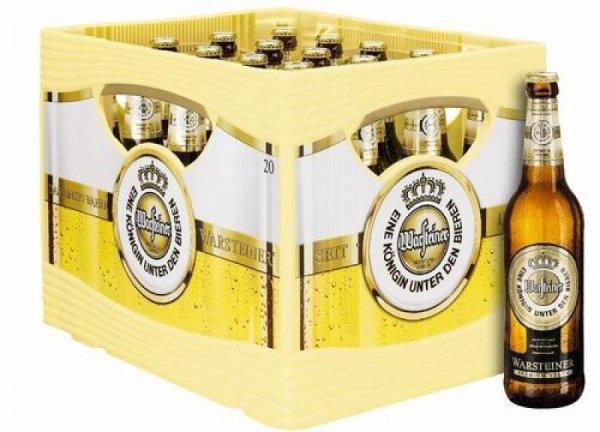[Trink&Spare Märkte] Kasten Warsteiner 20 x 0,5 l oder 24 x 0,33 l, verschiedene Sorten,  für 10,99 € + HP BBQ Sauce Honey (400ml) von Heinz gratis dazu