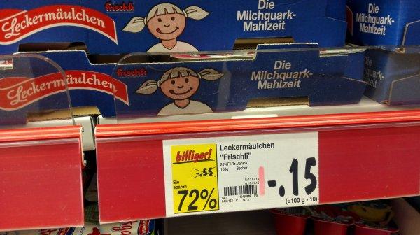 (lokal Oberhausen)  Kaufland 72% Rabatt Leckermäulchen