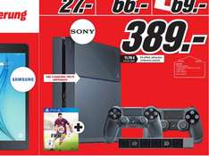 [lokal MM BS] PS4 500GB + 2 Controller + Kamera + FIFA 15