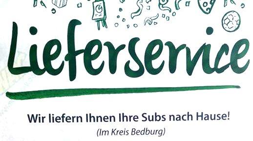 [Subway] Kostenfreier Lieferservice im Kreis Bedburg!