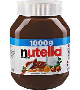 Kaufland (lokal?) - Aktion Nutella 1kg - 3,50 €
