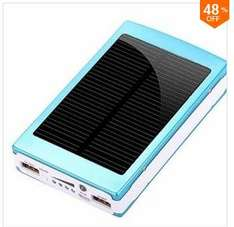 47% OFF 30000mAh Solar Charger Battery Power Bank For Smartphone @ Banggood