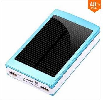 47% OFF 30000mAh Solar Charger Battery Power Bank For Smartphone @ Banggood