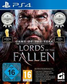 buecher.de - Lords Of The Fallen - Game Of The Year Edition / PS4 31,99 €, XBOX 31,99 € inkl. Versand