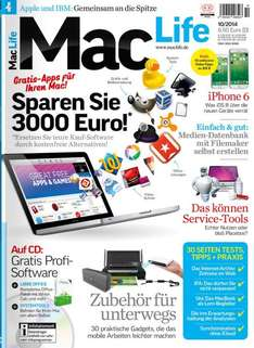Mac Life Magazin for free unter IOS