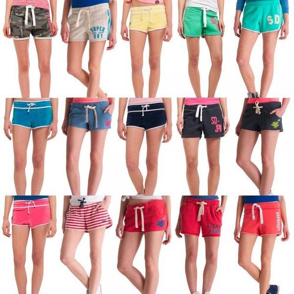 (ebay) Superdry Damen Shorts verschiedene Modelle und Farben für je 14,95 EUR - NEU mit Etikett