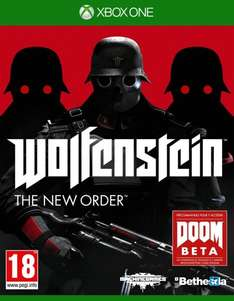 (Amazon.fr) Wolfenstein New Order (Uncut) Xbox One für 18,75 EUR