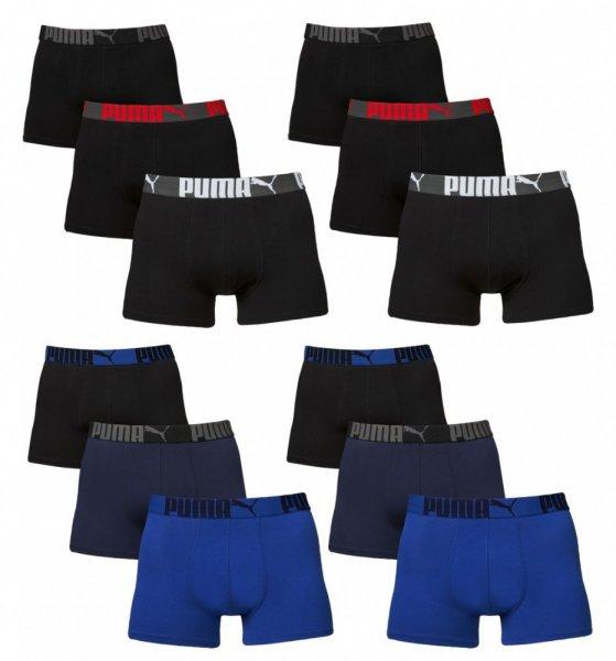 6er Pack Puma Herren Boxershorts, in den Größen M und S für 26,99 €, versandkostenfrei bei Allyouned