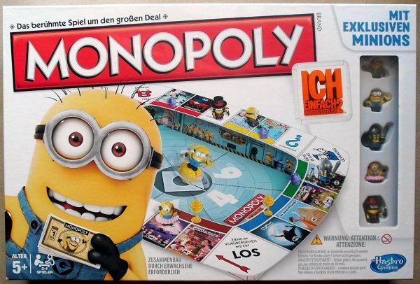 Minions Monopoly - Ich einfach unverbesserlich 2,  für 19,96 € statt 27,94 €, versandkostenfrei bei @Real.de