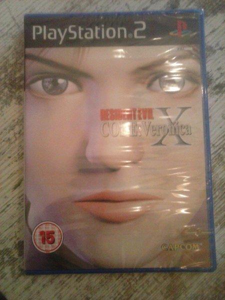 Retrogame: Resident Evil Code: Veronica X für Playstation 2 - Neuware