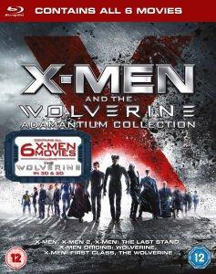 X-Men & The Wolverine Adamantium Collection [6x Blu-ray] für 20,80€ @Zavvi.coe