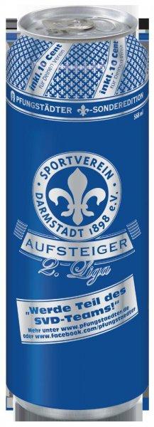 [Lokal Rewe Pfungstadt] Pfungstädter Pils/SV Darmstadt 98 Aufstieg 2. Liga - Dose 2 x 568ml - 1 Kaufen 1 Gratis