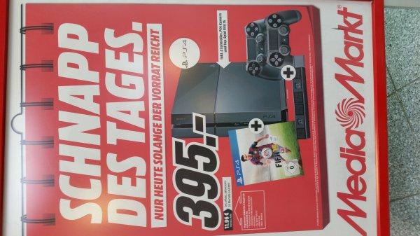 [Media Markt Gifhorn] PS4 + 2 Controller  + Fifa 15 + Kamera