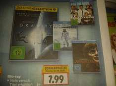 [Kaufland] Blu-ray Sonderposten in KW 30 je 7,99 €: Z. B. Interstellar, Gravity, Kill the Boss 2