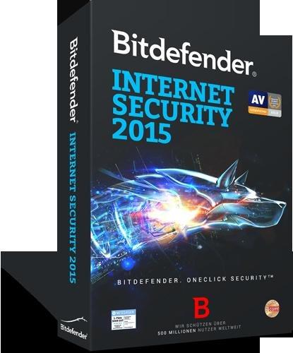 BitDefender Internet Security 2015 ? 1 PC ? 270 TAGE KOSTENLOS