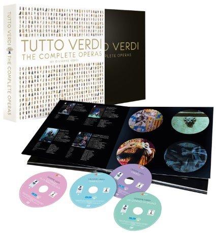[Ebay] TUTTO VERDI - The Complete Operas (Limited Premium Box mit 30 DVD's), für 279,00 € statt 495,00 €