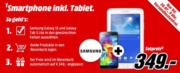 Samsung galaxy s5 plus tab 3 lite bei mm online