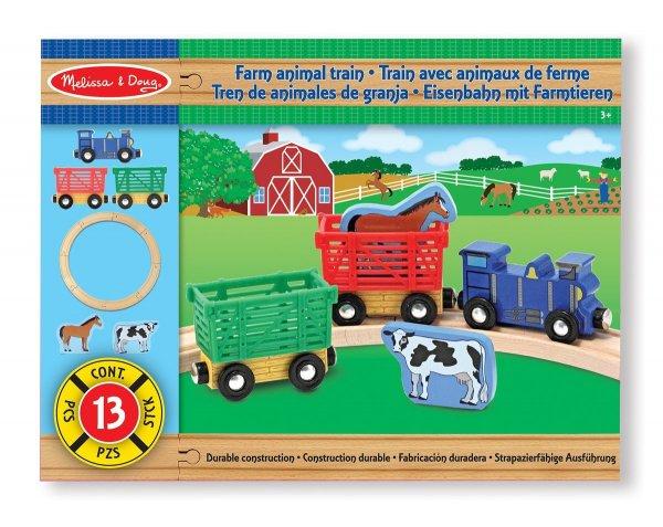 [Amazon-Prime] Melissa & Doug 10644 - Eisenbahn mit Farmtieren