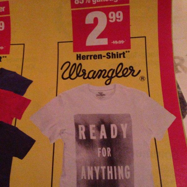 AWG  - Wrangler Herren Shirts