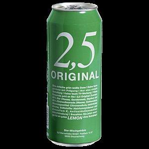 [lokal Nürnberg/Marktkauf] Original 2,5 Lemon zu 0,19€ die 0,5L Dose